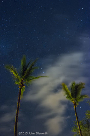 Island Night Sky